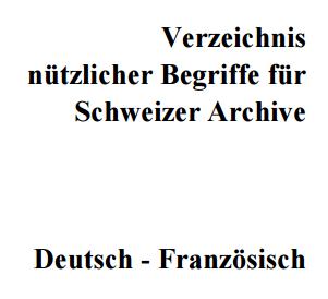 Schweizer Begriffe