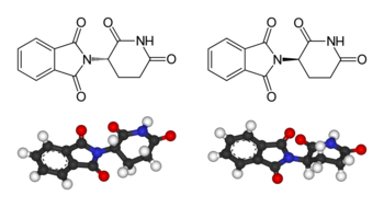 350px-Thalidomide-structures.png